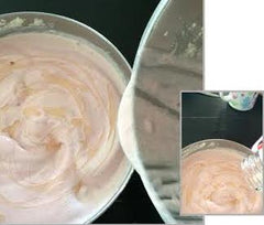 Homemade preservative free strawberry ice cream