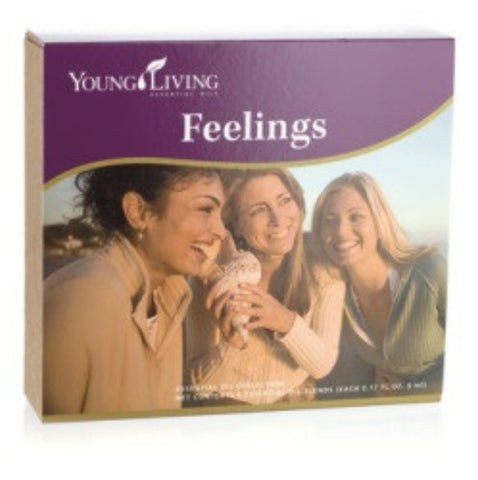 Young Living Feelings Essential Oil Kit - get rid of emotional baggage for maximum growth - Chef and Divine