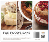Thermomix Recipe Book - For Food's Sake by Tenina Holder - Chef and Divine