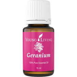 Young Living Geranium Essential Oil - The beautiful oil - Chef and Divine