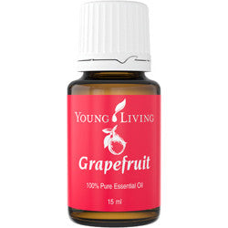 Young Living Grapefruit Essential Oil - supports weight loss & curbs appetite - Chef and Divine