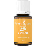 Young Living Lemon Essential Oil - the detox super oil - Chef and Divine