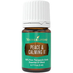 Young Living Peace & Calming II Essential Oil Blend - the Alternative to Gentle Baby - Chef and Divine