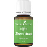 Young Living Stress Away Essential Oil blend - the Ultimate Stress and Depression Reliever - Chef and Divine