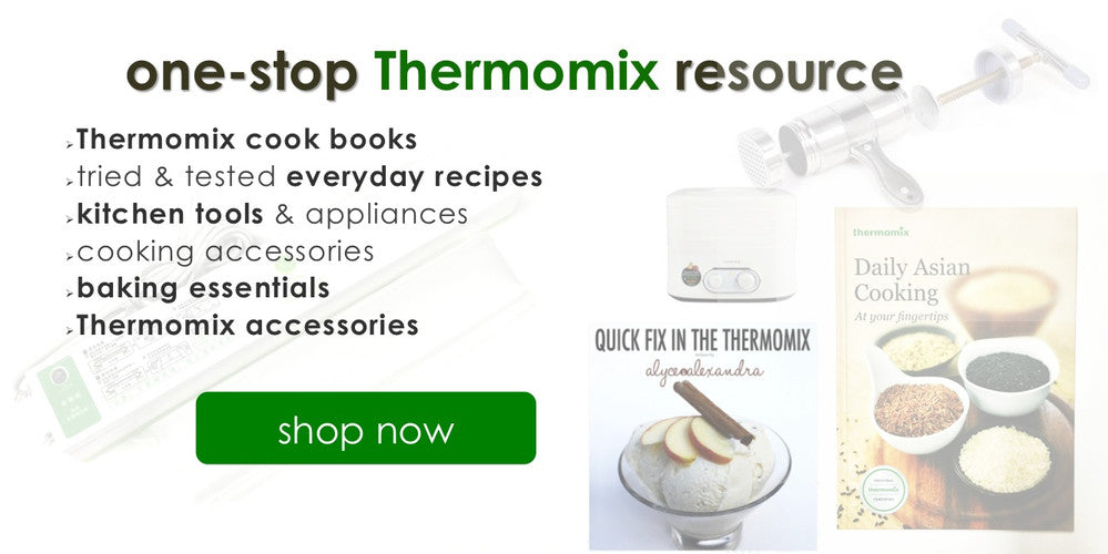 Buy Thermomix TM5 Cook book recipe books cooking tools Singapore
