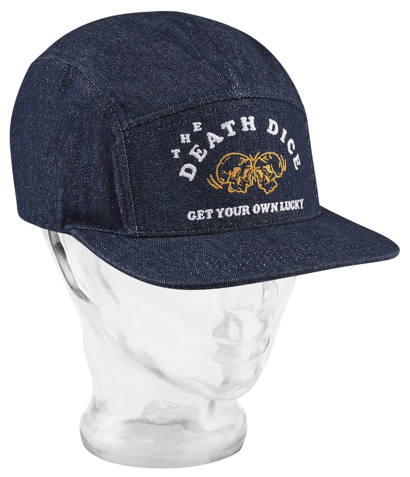 Death Dice 5 Panel cap - Navy - 5 Panel Caps