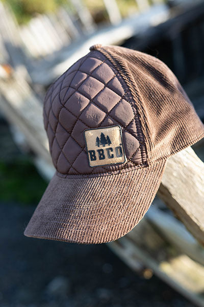 Ranger Padded Cap - Bison Brown - 5 Panel Caps