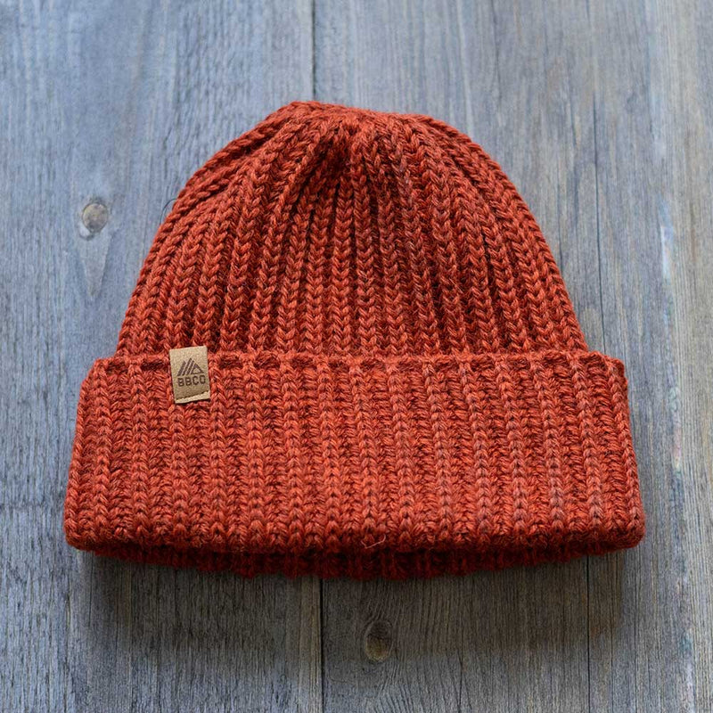 The Fistral Beanie - Rustic Red