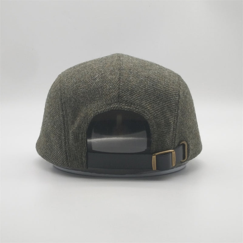 NEW Tweed Wool Cap - Heath