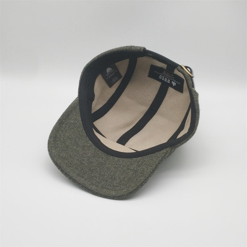 Yorkshire Tweed Wool Cap - Heath
