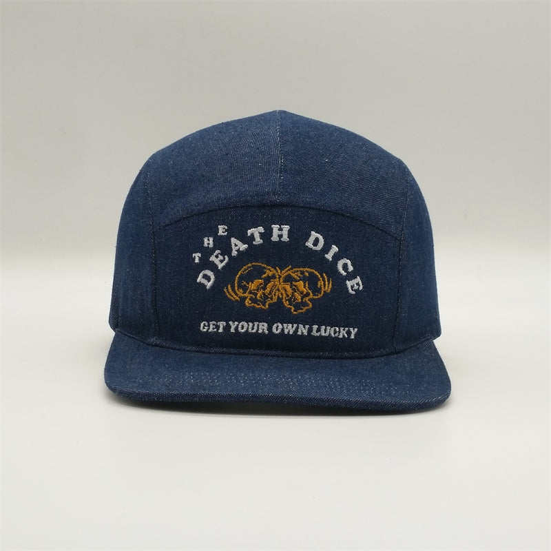 Death Dice 5 Panel - Navy