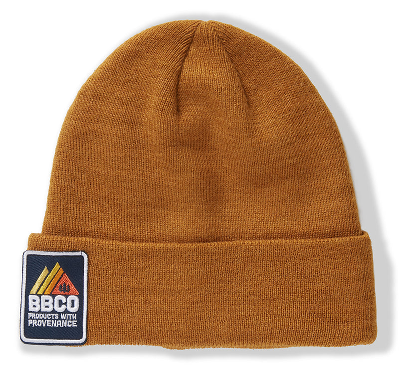 Eco Essentials Beanie - Mustard - Beanie Hats