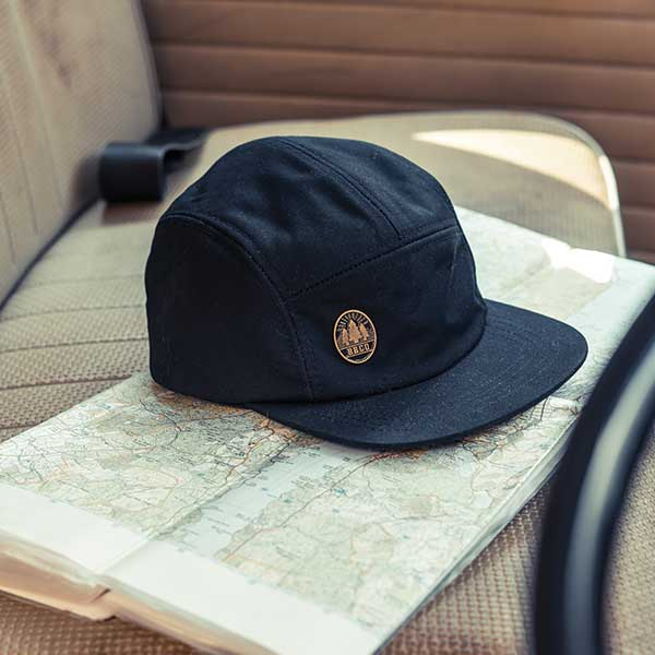 The Lincoln wax cap - 5 Panel Caps