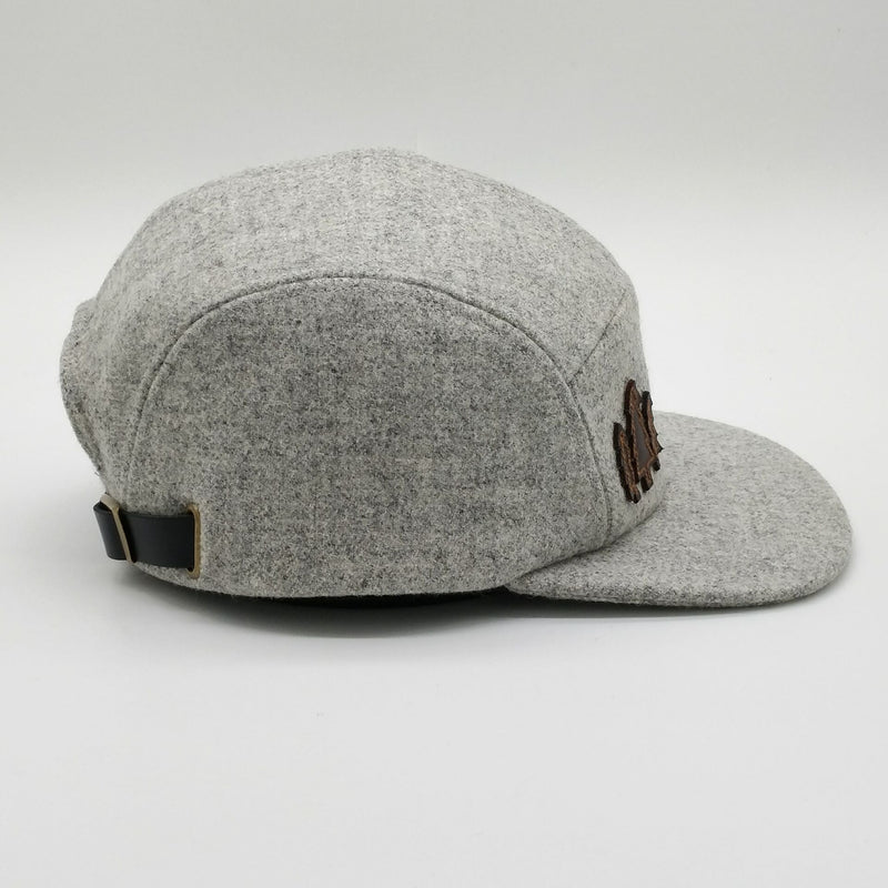 Tweed Wool Cap - Marle