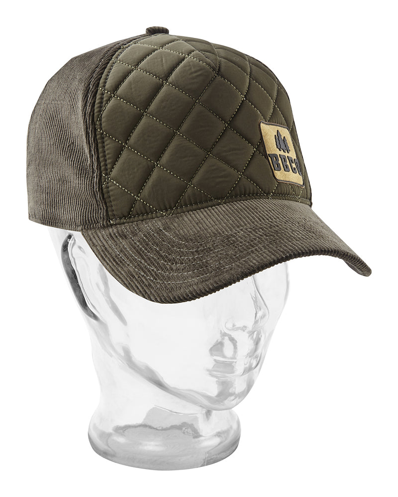 Ranger Padded Cap - Olive Green - 5 Panel Caps