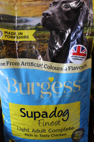 Burgess Supadog Light Adult Complete 12.5Kg