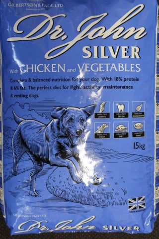 Dr John Silver Chicken and Vegetables 15Kg