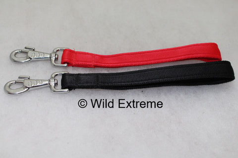 Extra Short Webbing Dog Lead