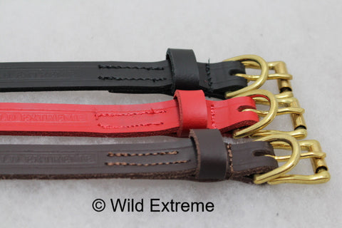 25 mm Leather collars