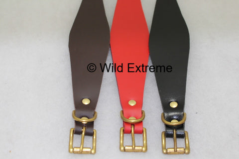 Leather Greyhound Collars