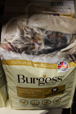 Burgess Cat Food Chicken & Duck