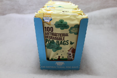 Good Boy Antibacterial Degradeable Poo Bags 100