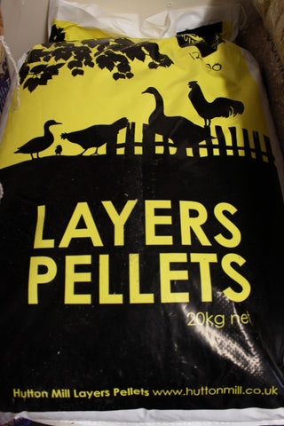 Hutton Mill Layers Pellets 20Kg