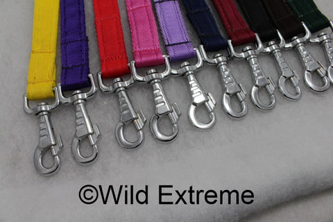 Med Padded Webbing Dog Lead