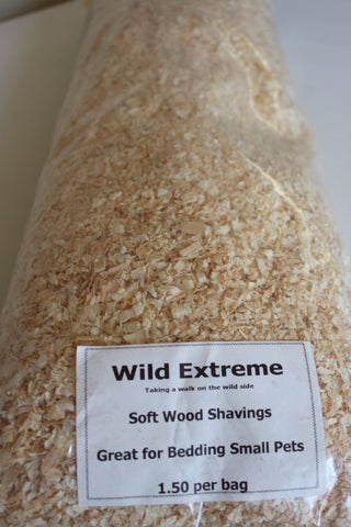 Softwood shavings ideal bedding for Rabbits & Guinea Pigs