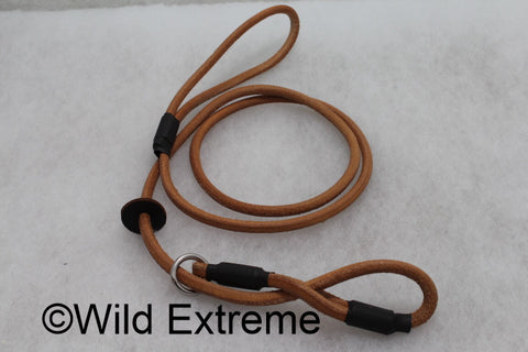 Leather Anti Pull Dog Lead