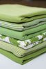 Rich Lime - Organic Cotton Tubular Interlock - Fabworks Online