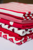 Safe Harbour - Red - Organic Cotton Interlock - Fabworks Online