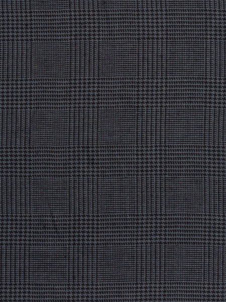 Dark and Sophisticated Check - Slate Grey - Fabworks Online