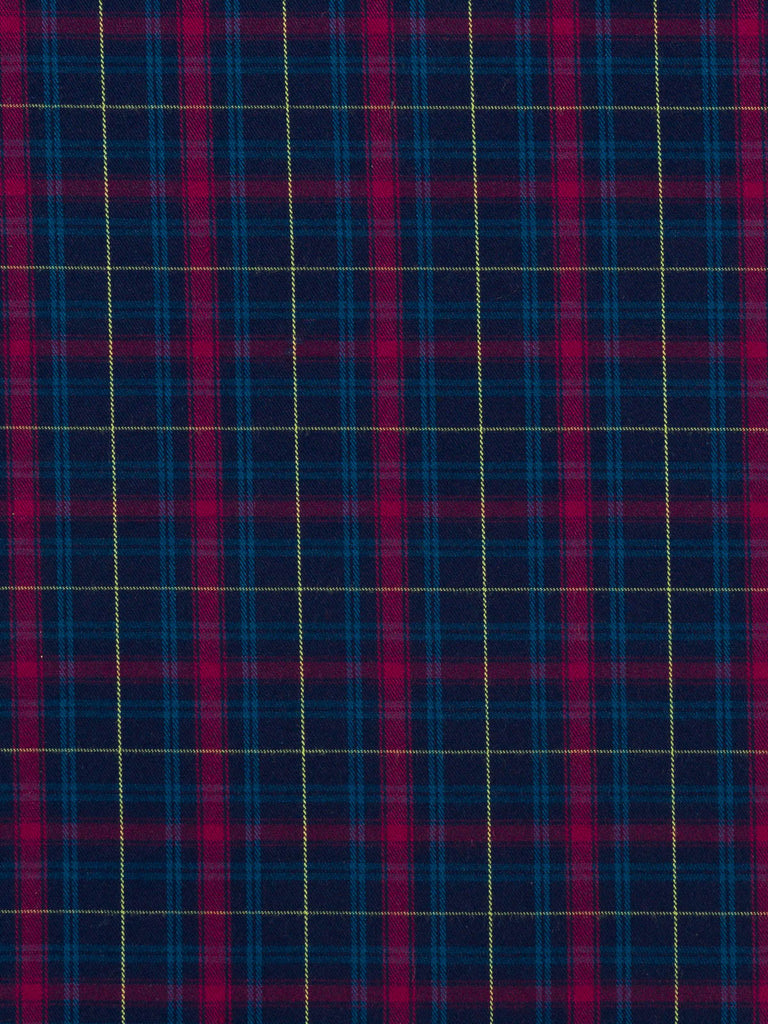 Midnight Mulberry Plaid - Fabworks Online