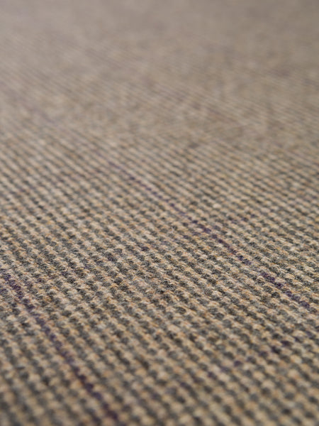 Rambling Heath - Subtle Windowpane Check Tweed