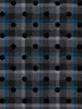 Domino Effect Flocked Polka Dot Wool Check - Fabworks Online