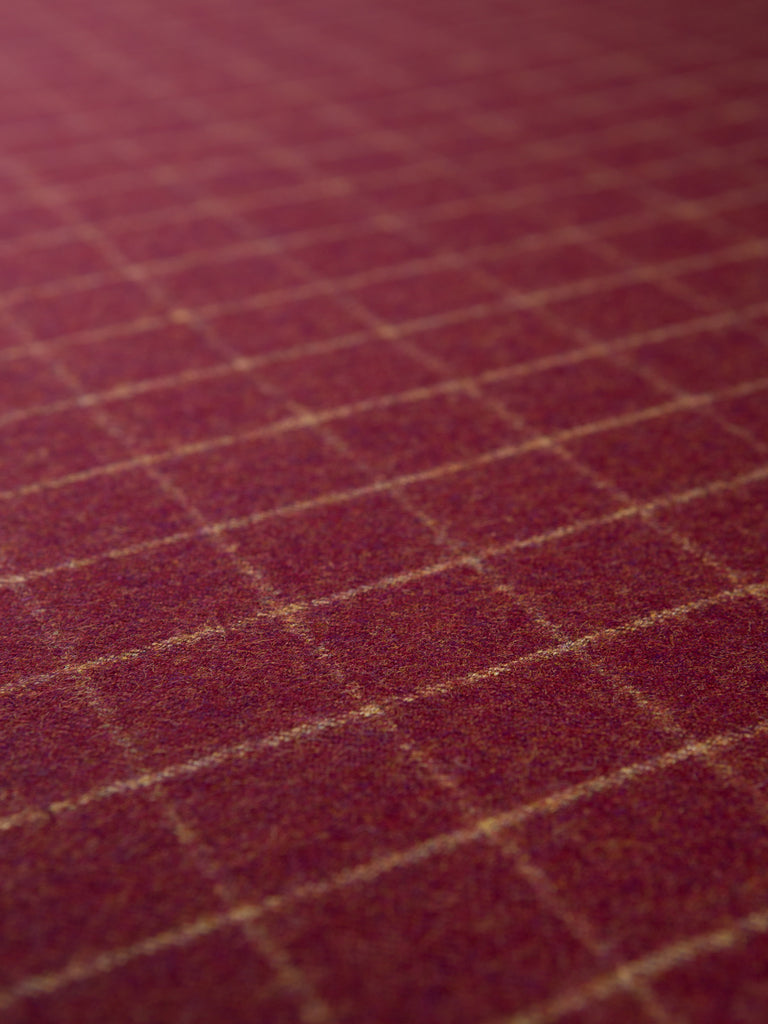 Copper Beech Check - Yorkshire Tweed