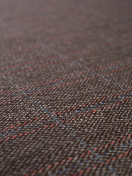 Rain Soaked Bracken Check - Yorkshire Tweed