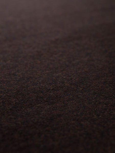 Rich Peat Tweed - Harris Herringbone - Fabworks Online