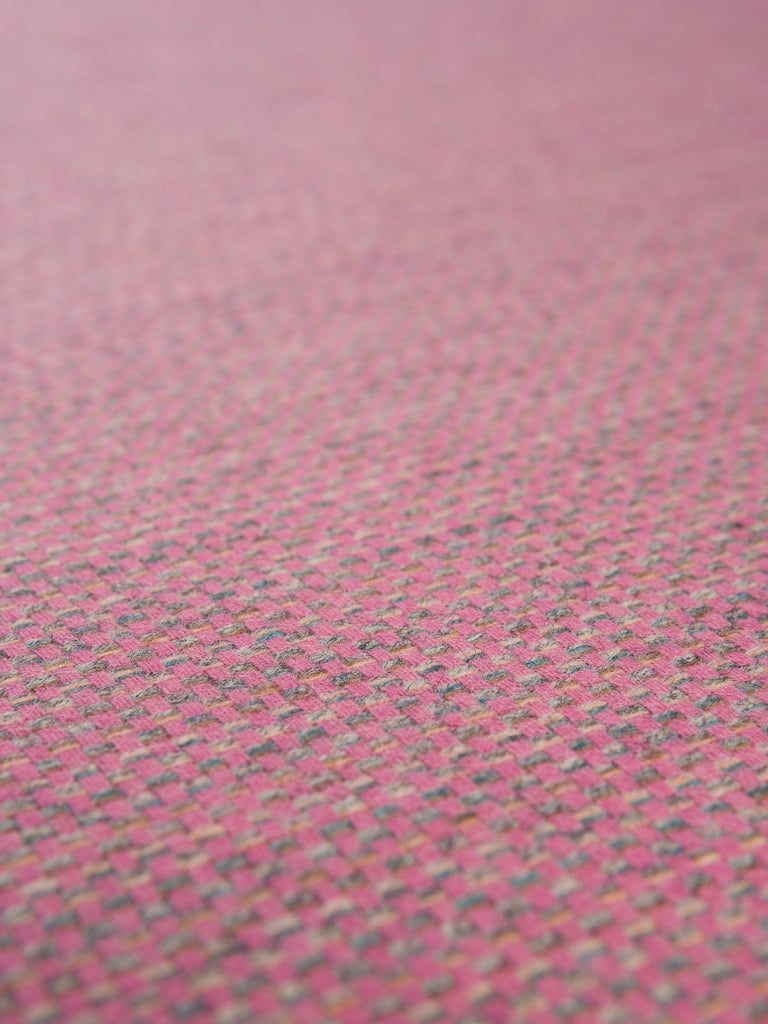Tickled Pink - Straw Weave - Yorkshire Tweed