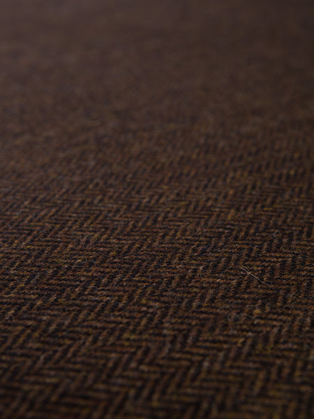 Tawny Night Herringbone - Yorkshire Tweed