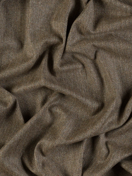 Woodland Fern Herringbone - Yorkshire Tweed