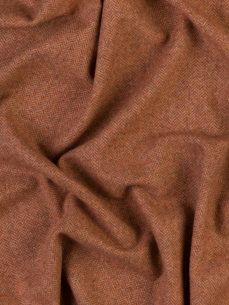 Iced Gingerbread - Herringbone Tweed