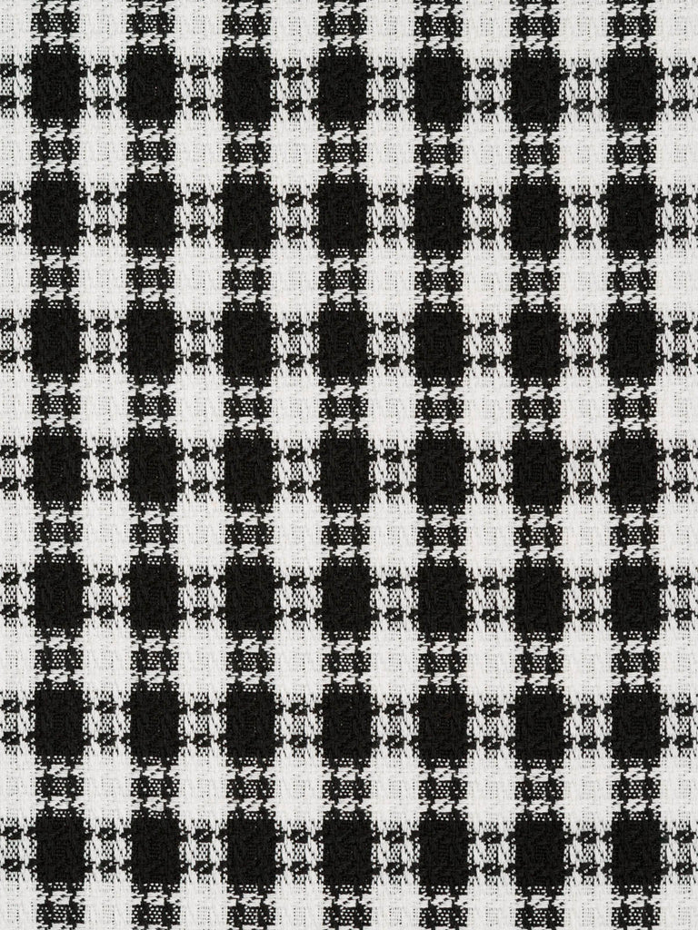 Chanel Style Monochrome Check - TO FINISH - Fabworks Online