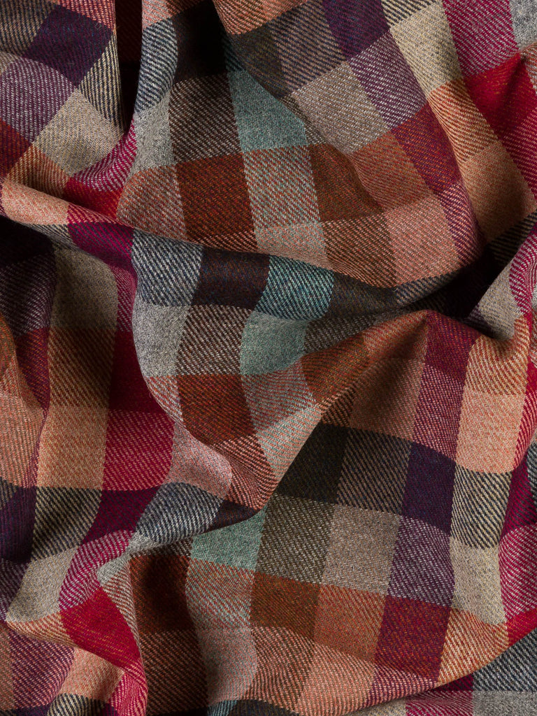 Autumn Glory Check - Yorkshire Tweed