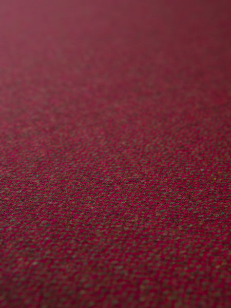 Yew Berry Herringbone - Yorkshire Tweed