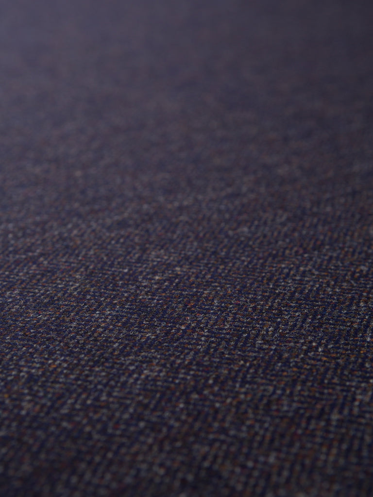 Starry Night Herringbone - Yorkshire Tweed