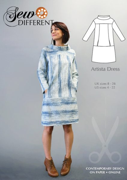 Artista Dress Pattern - Sew Different