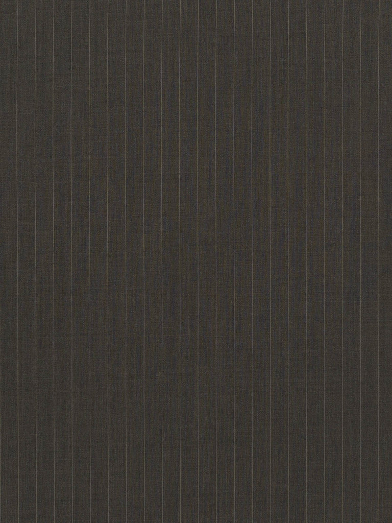 Grey Taupe Pinstripe Superfine Worsted - Fabworks Online