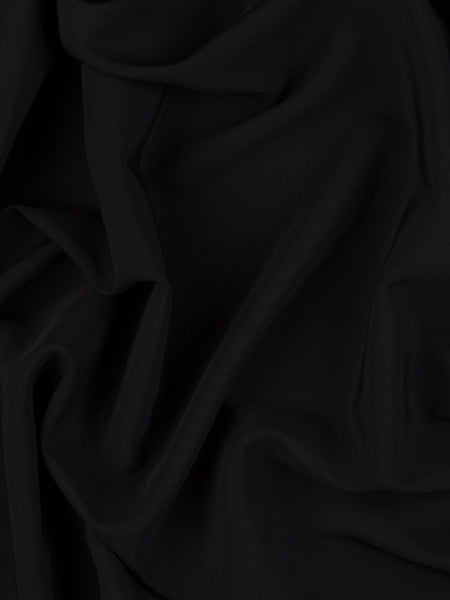 Substantial Viscose Double Twill - Black